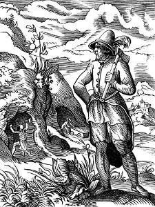The Miner, 16th Century by Jost Amman