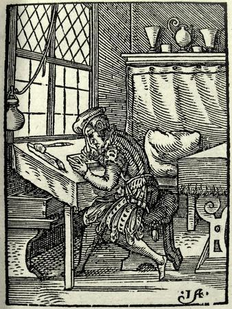 The Woodblock Cutter, 1568