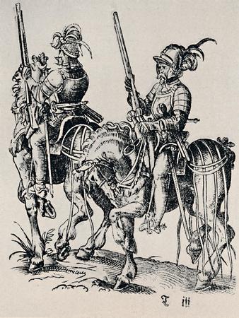 'Woodcut by Jost Amman (1539-1591)', (1927)