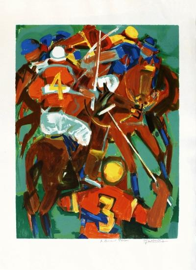 Joueurs de polo-Pierre Gaillardot-Collectable Print