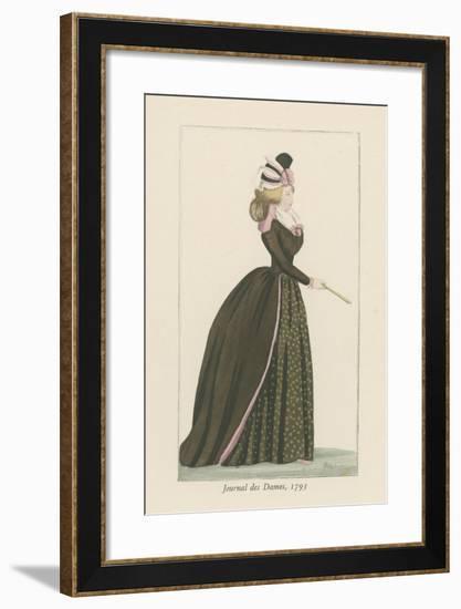 Journal Des Dames, 1793--Framed Giclee Print