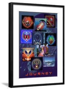 Journey - Album Collage