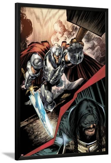 Journey Into Mystery No.628: Thor Flying-Whilce Portacio-Lamina Framed Poster