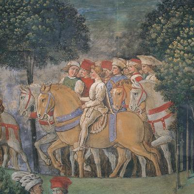 Journey of the Magi-Benozzo Gozzoli-Art Print