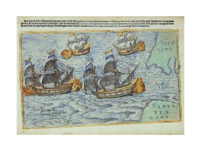 Journey of William Barents or Willem Barentsz--Giclee Print