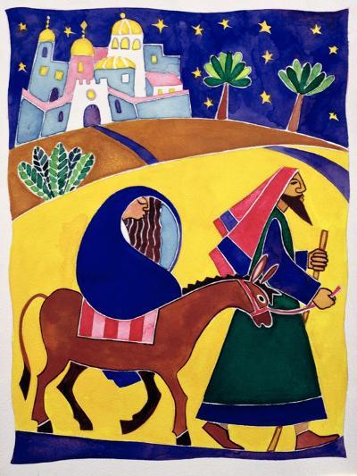 Journey to Bethlehem-Cathy Baxter-Giclee Print