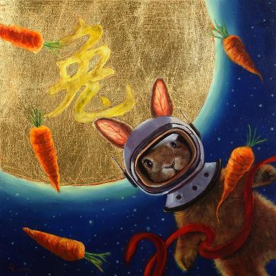 Journey to the Moon-Lucia Heffernan-Art Print