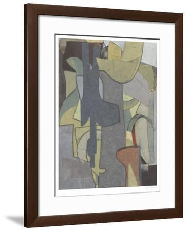 Journeyman's Papers IV-Rob Delamater-Framed Limited Edition