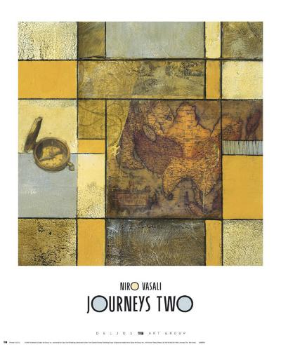 Journeys II-Niro Vasali-Art Print