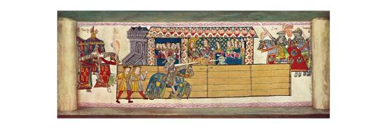 'Jousts at Westminster. February 13th, 1510', 1511, (1903)-Unknown-Giclee Print