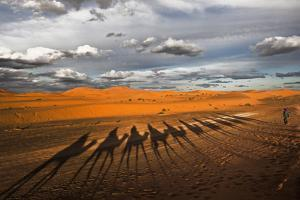Through the Dunes of Merzouga (Morocco). by Joxe Inazio
