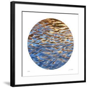 Liquid Gold Circle 1 by Joy Doherty