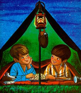 Camping - Child Life by Joy Friedman