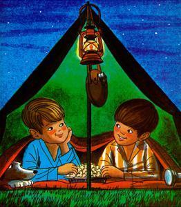 Camping - Child Life by Joy Friedman