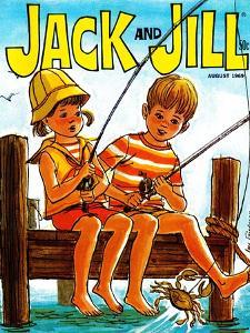 Crab Fishing - Jack and Jill, August 1969 by Joy Friedman