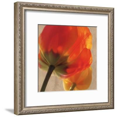 Joy I-S^ G^ Rose-Framed Art Print