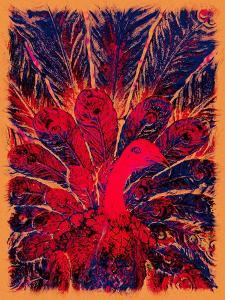 Bahaullah's Golden Peacock, 2016 by Joy Lions