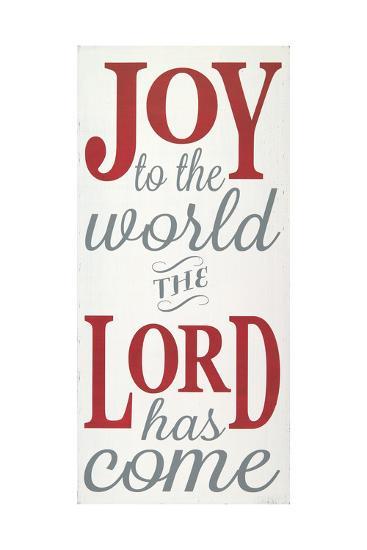 Joy to the World the Lord-Erin Deranja-Art Print
