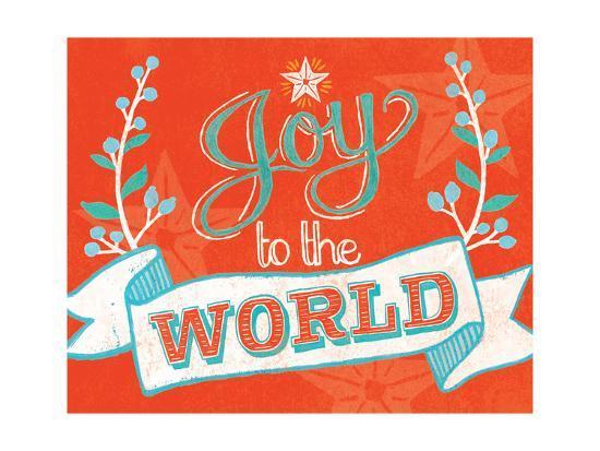 Joy to the World-Mary Urban-Art Print