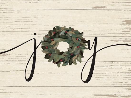 Joy Wreath-Jo Moulton-Art Print