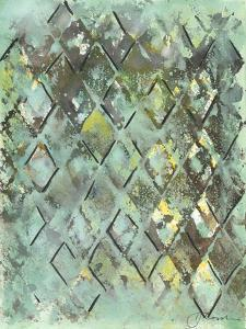 Lattice in Green I by Joyce Combs