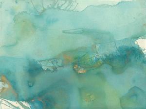 Turquoise Moment III by Joyce Combs