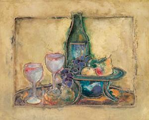 Wine and Fruit II by Joyce Combs