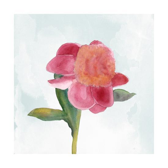 Joyful Peony III-Alicia Ludwig-Art Print