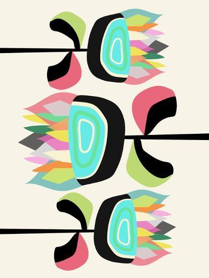 Joyful Plants-Susana Paz-Art Print
