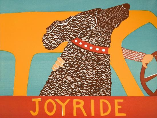 Joyride Choc-Stephen Huneck-Giclee Print