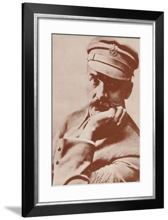 Jozef Klemens Pilsudski--Framed Photographic Print