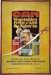 World War I: U.S. Poster by Jozef Paul Verrees