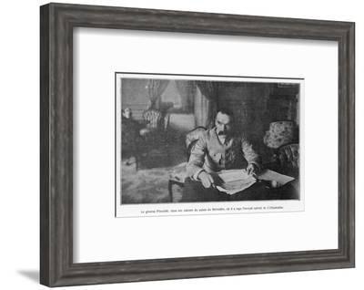 Jozef Pilsudski Polish General and Statesman--Framed Photographic Print