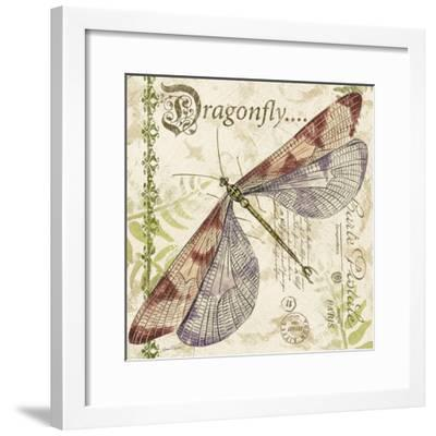 JP3431-Dragonfly Daydreams-Jean Plout-Framed Giclee Print