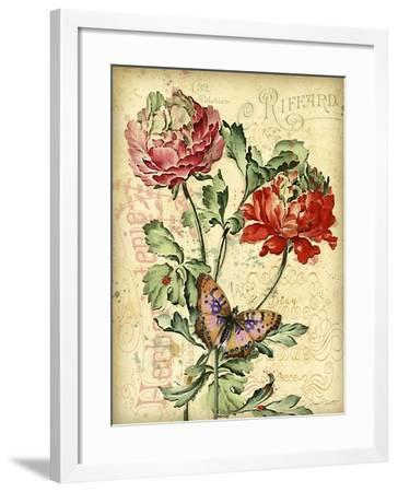 JP3836-French Florals-Jean Plout-Framed Giclee Print