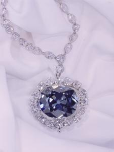 View of the Hope Diamond by Jr Victor R. Boswell