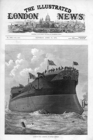The Cover of the Illustrated London News, 17th April 1875