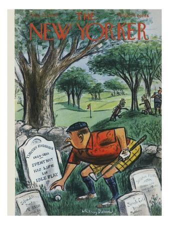The New Yorker Cover - August 22, 1959