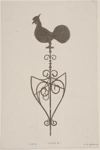 Weather Vane from St Stephen, Coleman Street, London, C1850 by JS Gardener