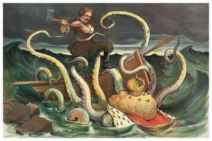Attack Of The Royal Kraken by JS Pughe