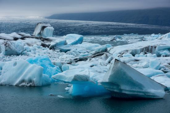 Jškulsarlon, Glacier Lagoon-Catharina Lux-Photographic Print