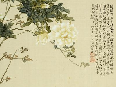 Flowers, from an Album of Ten Leaves