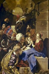 Adoration of the Magi by Juan Bautista Maino