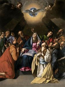 Pentecost, 1615-1620 by Juan Bautista Mayno