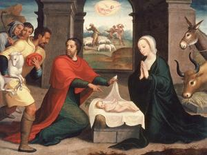 Adoration of the Shepherds, 1550/60 by Juan Correa de Vivar