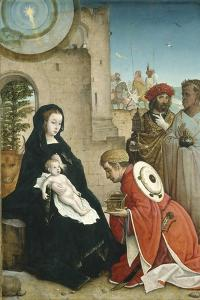 Adoration of the Magi, c.1508-19 by Juan de Flandes