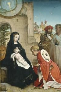 Adoration of the Magi, c.1508-19 by Juan de Flandes