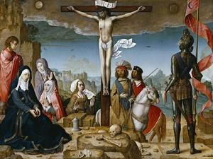 Crucifixion, 1509-1518 by Juan de Flandes