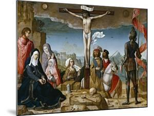 Crucifixion, 1509-1518 by Juan de Flandes