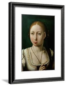 Juana the Mad (1473-1555) by Juan de Flandes
